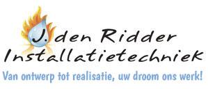 J. Den Ridder Installaties  Logo